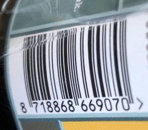EAN Barcode Productlabel